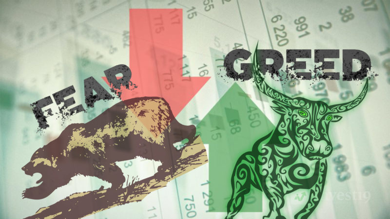 Greed and Fear Within the Share Market